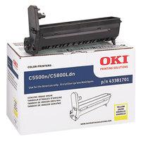 OKI 43381701 Yellow Type C8 Printer Drum Cartridge