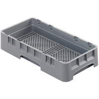 Cambro HFR258151 Soft Gray Customizable Half Size Camrack Flatware Rack