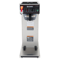Bunn 23001.0058 CWTF APS-DV Airpot Brewer with Black Plastic Funnel - Dual Voltage