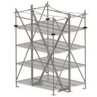 Metro SA48TTIS Super Erecta Seismic Top-Track 48 inch Stationary Intermediate Unit Kit