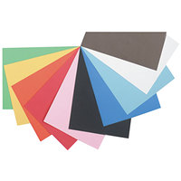 Pacon 103063 Tru-Ray 12 inch x 18 inch Assorted Color Pack of 76# Construction Paper - 50/Sheets