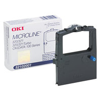 OKI 52102001 Black Microline Dot Matrix Printer Ribbon
