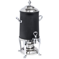 Eastern Tabletop 3203FSMB Freedom 3 Gallon Black Coated Stainless Steel Coffee Urn with Fuel Holder