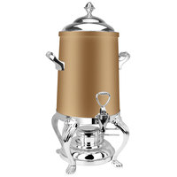 Eastern Tabletop 3203QARZ Queen Anne 3 Gallon Bronze Coated Stainless Steel Coffee Urn with Fuel Holder