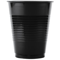 Creative Converting 28134081B 16 oz. Black Velvet Plastic Cup - 50/Pack