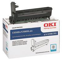 OKI 43381703 Cyan Type C8 Printer Drum Cartridge