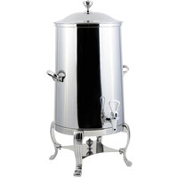 Bon Chef 40005-1CH-E Aurora 5 Gallon Insulated Stainless Steel Electric Coffee Chafer Urn with Chrome Trim