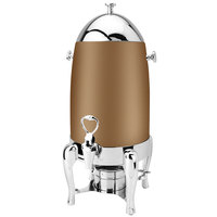Eastern Tabletop 3133RZ Ballerina 3 Gallon Bronze Coated Stainless Steel Coffee Urn with Fuel Holder