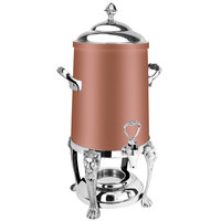 Eastern Tabletop 3203LHCP Lion Head 3 Gallon Copper Coated Stainless Steel Coffee Urn with Fuel Holder