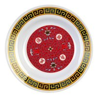 Thunder Group 1108TR Longevity 7 oz. Round Melamine Soup Plate - 12/Pack