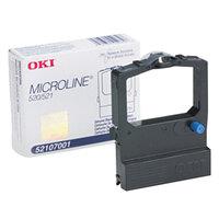 OKI 52107001 Black Microline Dot Matrix Printer Ribbon