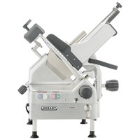 Hobart EDGE13A-11 13 inch Heavy Duty Automatic Gravity Feed Meat Slicer - 1/2 hp