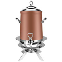 Eastern Tabletop 3203LCP Luminous 3 Gallon Copper Coated Stainless Steel Coffee Urn with Fuel Holder