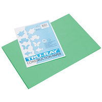 Pacon 103038 Tru-Ray 12 inch x 18 inch Festive Green Pack of 76# Construction Paper - 50/Sheets