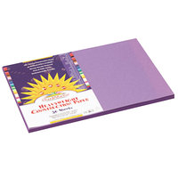 SunWorks 7207 12 inch x 18 inch Violet Pack of 58# Construction Paper - 50/Sheets