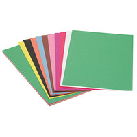 SunWorks 6507 12 inch x 18 inch Assorted Color Pack of 58# Construction Paper - 50 Sheets