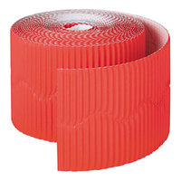 Pacon 37036 Bordette 2 1/4 inch x 50' Flame Red Decorative Border