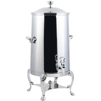 Bon Chef 48005C-E Lion 5 Gallon Insulated Stainless Steel Electric Coffee Chafer Urn with Chrome Trim
