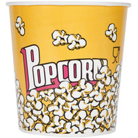 Carnival King 130 oz. Popcorn Bucket - 150/Case