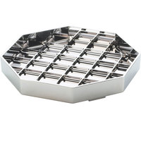 Cal-Mil 308-6-49 Classic 6 inch Chrome Octagonal Drip Tray