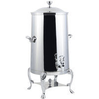 Bon Chef 48003C-E Lion 3 Gallon Insulated Stainless Steel Electric Coffee Chafer Urn with Chrome Trim