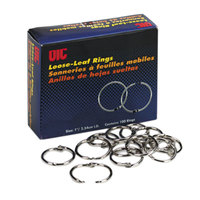 Officemate 99701 1 inch Loose Leaf Ring - 100/Box