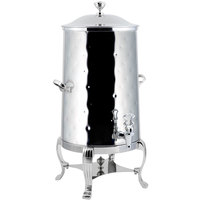 Bon Chef 40003CH-H Aurora 3 Gallon Insulated Hammered Stainless Steel Coffee Chafer Urn with Chrome Trim