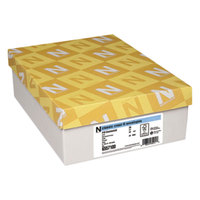 Neenah Paper 6557100 Classic Crest #10 4 1/8 inch x 9 1/2 inch Baronial Ivory Envelope   - 500/Box
