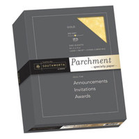 Southworth 994C 8 1/2 inch x 11 inch Gold Box of 24# Parchment Paper - 500/Pack