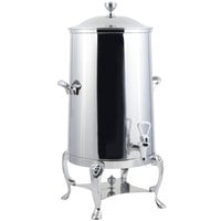 Bon Chef 48003-1C-E Lion 3 Gallon Insulated Stainless Steel Electric Coffee Chafer Urn with Chrome Trim