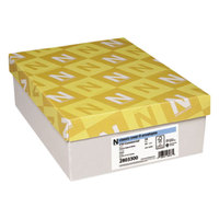 Neenah Paper 2803300 Classic Crest #10 4 1/8 inch x 9 1/2 inch Natural White Envelope   - 500/Box