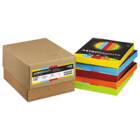 Astrobrights 22998 8 1/2 inch x 11 inch Assorted Color Case of 24# Color Paper - 1250/Sheets