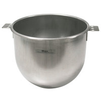 Sammic 2502305 5 Qt. Stainless Steel Planetary Mixer Bowl