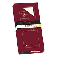 Southworth R14I10L #10 4 1/8 inch x 9 1/2 inch Ivory Gummed Seal Cotton Resume Envelope   - 50/Box