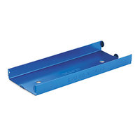 MMF Industries 211010508 Blue Aluminum Rolled Coin Tray with Denomination and Quantity