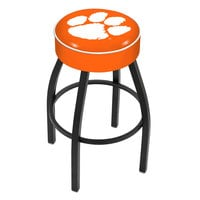 Holland Bar Stool L8B130Clmson Clemson Single Ring Swivel Bar Stool with 4 inch Padded Seat