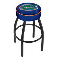 Holland Bar Stool L8B130FlorUn University of Florida Single Ring Swivel Bar Stool with 4 inch Padded Seat