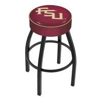 Holland Bar Stool L8B130FSU-FS Florida State Single Ring Swivel Bar Stool with 4 inch Padded Seat