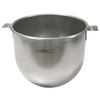 Sammic 2509494 10 Qt. Stainless Steel Planetary Mixer Bowl