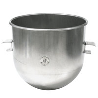 Sammic 2509495 20 Qt. Stainless Steel Planetary Mixer Bowl