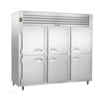 Traulsen ALT332WUT-HHS 79 Cu. Ft. Three-Section Solid Half Door Reach-In Freezer - Specification Line