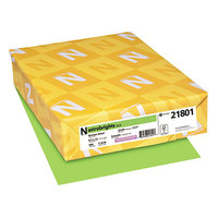Astrobrights 21801 8 1/2 inch x 11 inch Martian Green Ream of 24# Color Paper - 500/Sheets