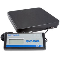 Cardinal Detecto DR150 150 lb. Portable Receiving Scale with Remote Display