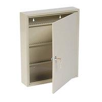 Steelmaster 201908003 14 inch x 3 1/8 inch x 17 1/8 inch Sand Key Lock Steel 80 Uni-Tag Key Cabinet