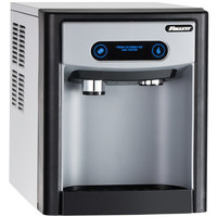 Follett 7CI100A-IW-NF-ST-CC 7 Series Air Cooled Countertop Ice Maker and Sparkling Water Dispenser - 7 lb. Storage Capacity