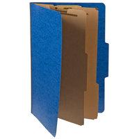 Pendaflex PFX 2257BL Legal Size Moisture-Resistant Classification Folder - 10/Box