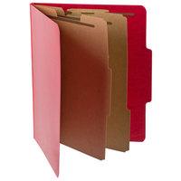 Pendaflex PFX 1257SC Letter Size Moisture-Resistant Classification Folder - 10/Box