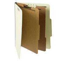 Pendaflex PFX 1257G Letter Size Classification Folder - 10/Box