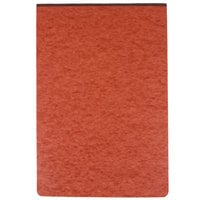 Oxford 13234 11 inch x 17 inch Red 3 inch Capacity Pressboard Report Cover with 2-Prong Fastener - 25/Box