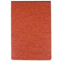 Oxford 13234EE 11 inch x 17 inch Red 3 inch Capacity Pressboard Report Cover with 2-Prong Fastener - 25/Box